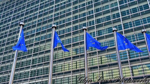 The European Commission - European Flag