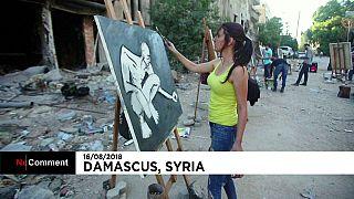 Damasco: Quando a arte não escolhe lugar