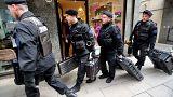 La policía registra el domicilio de Cristina Fernández