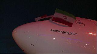 Air France и British Airways прекращают летать в Тегеран