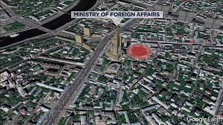 Нападение на полицейских в центре Москвы