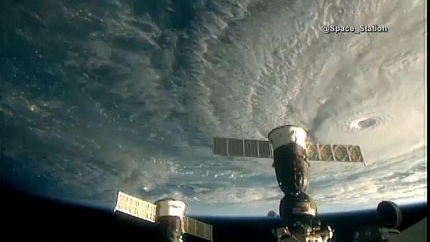 فيديو من محطّة الفضاء الدولية لإعصار لين المتوجه نحو هاواي