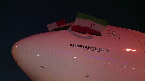 Nem repül tovább Iránba az Air France és a British Airways