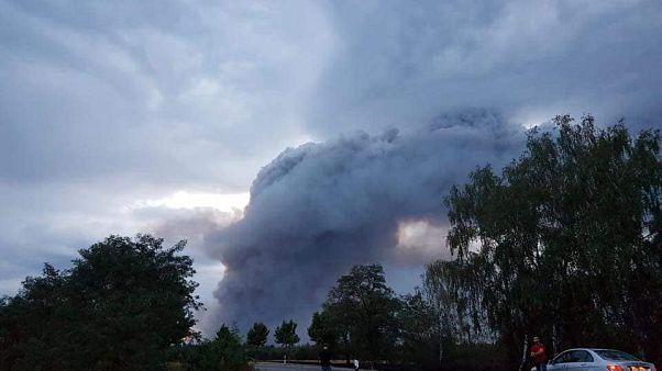 Waldbrand vor Berlin: 600 Menschen aus 3 Dörfern evakuiert