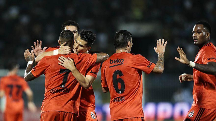 Beşiktaş Partizan deplasmanından avantajlı skorla dönüyor: 1-1