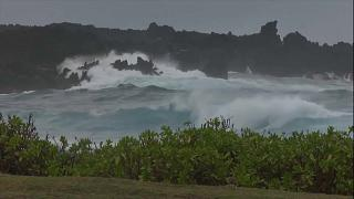 Lane Kasırgası Hawaii Adaları'nı vurdu