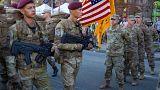 Amerikai katonák Kijevben