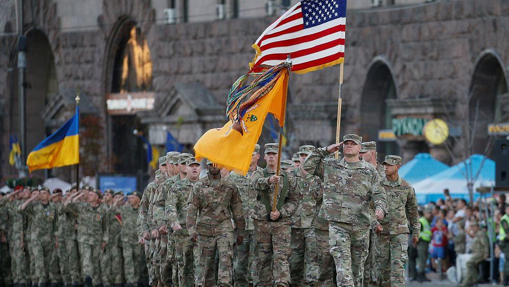 Bolton bei Unabhängigkeitsfeier in Kiew