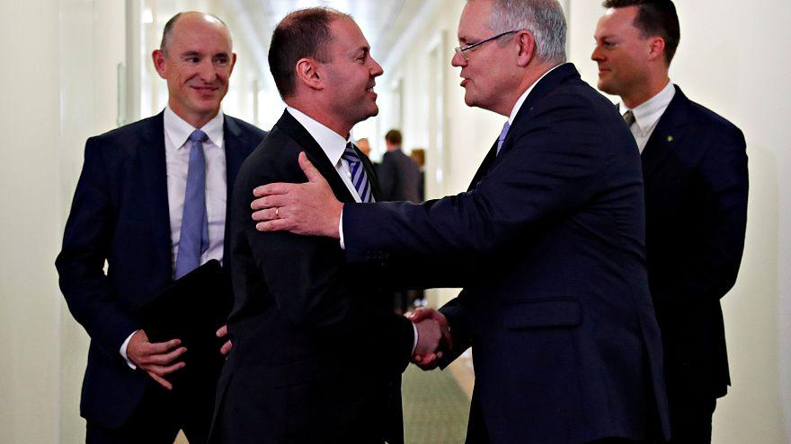 وزير الخزانة سكوت موريسون  إلى رئاسة الوزراء في أستراليا