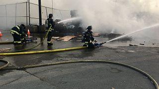 Yangın yaklaşık bir saat sonra kontrol altına alındı
