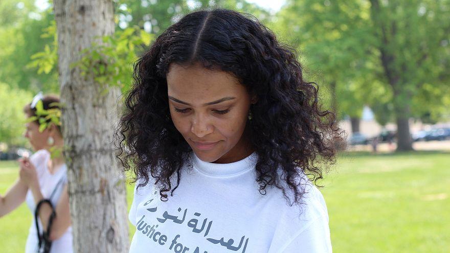 جزء من حملة لمساندة نورا في واشنطن مايو / أيار الماضي