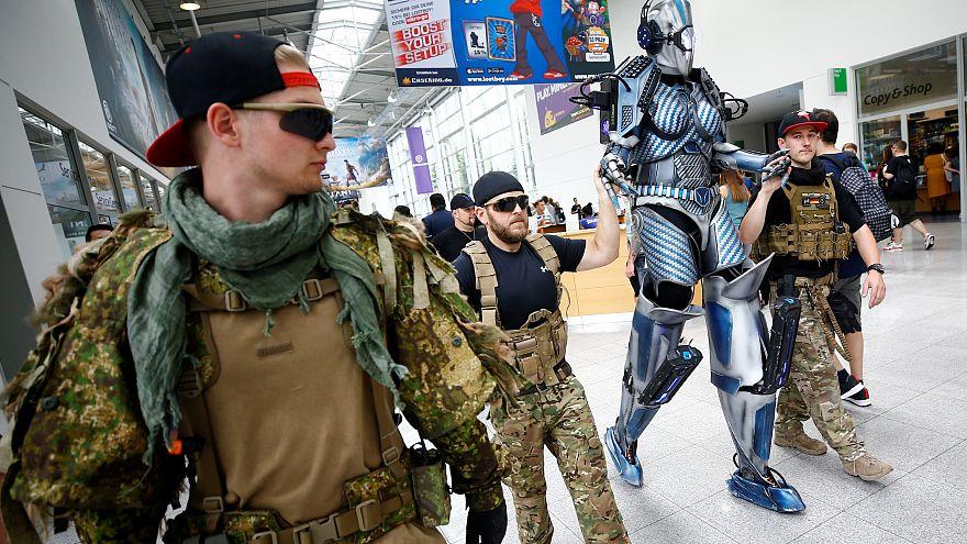 Es hagelt Kritik an Bundeswehr-Werbung bei 10. Gamescom