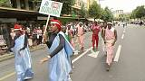 28 Musiker aus Burundi - plötzlich weg...