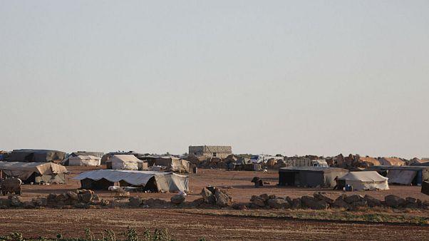 چادرهای آوارگان جنگی سوریه در اطراف ادلب