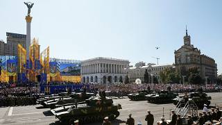 Ucrania celebra los 27 años de independencia