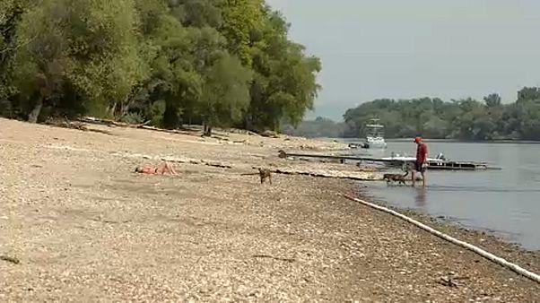 Rekordmélyen a Duna
