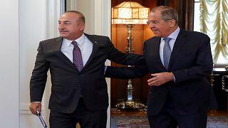 """وزير الخارجية التركي: """"التدخل العسكري في إدلب سيسبب كارثة"""""""