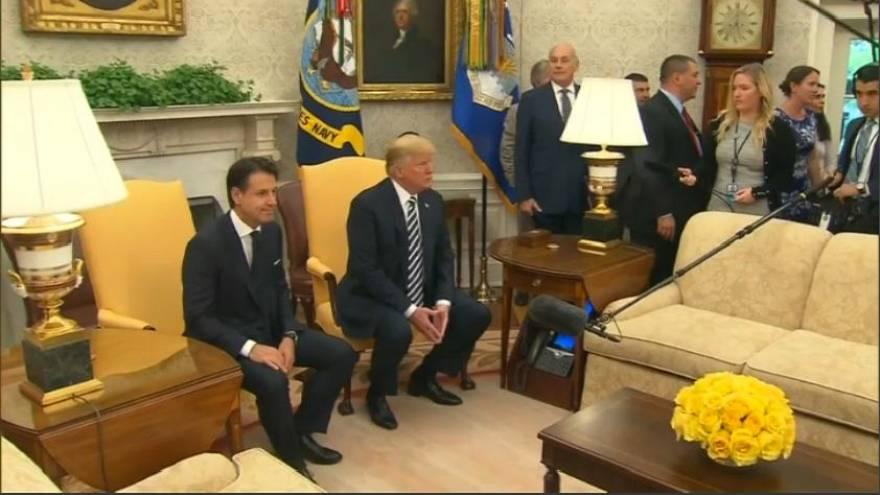 U.S. President Donald Trump's debt offer to Italy