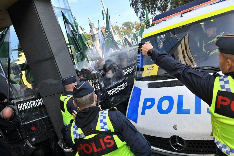 Fredrik Sandberg/TT News Agency/via REUTERS