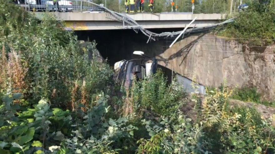 Φινλανδία: Λεωφορείο έπεσε από γέφυρα- Τέσσερις νεκροί