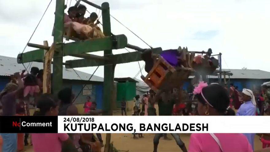 Карусели для детей рохинджа