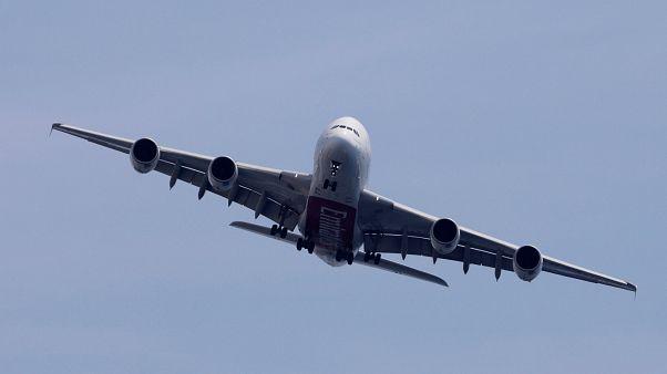 Bir Airbus uçağı