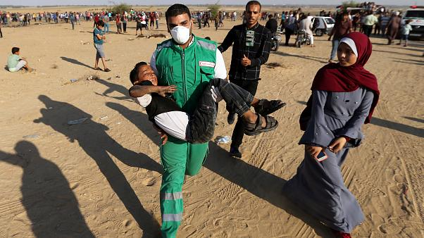 US aid to Gaza and West Bank withheld