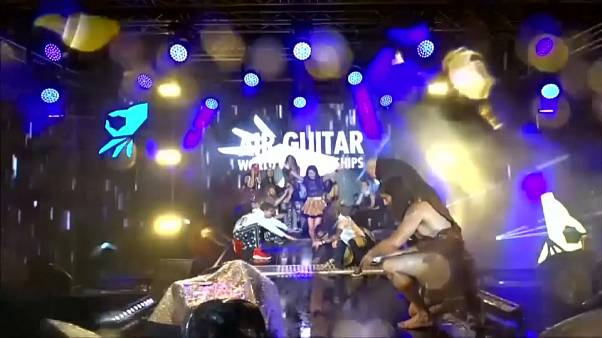 Air guitar champion crowned