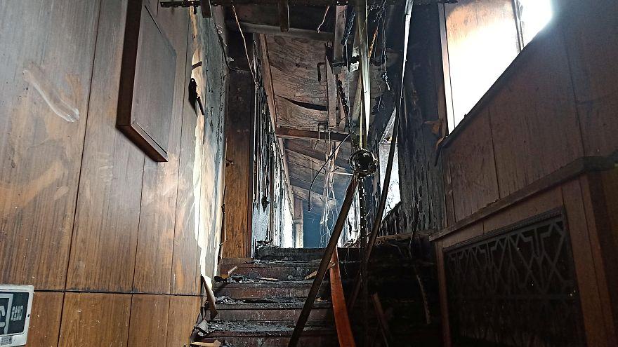 حريق بأحد فنادق ينابيع المياه الساخنة في الصين يودي بحياة 18 شخصا
