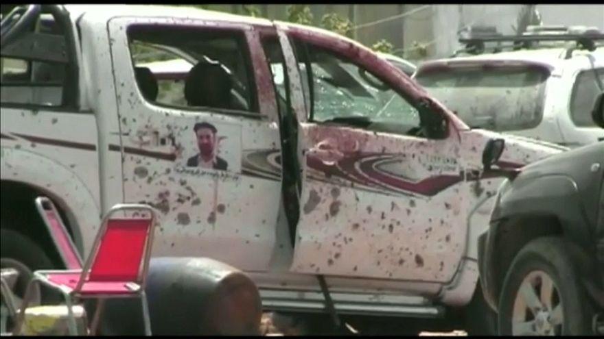 مقتل 3 أشخاص في تفجير انتحاري قرب مكتب اللجنة الانتخابية بجلال أباد