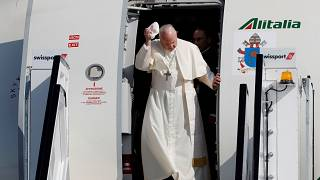 Папа Франциск приехал в Ирландию