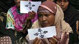 شاهد: الروهينغا يتظاهرون في بنغلادش مطالبين بالعدالة والسلام
