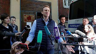 الکسی ناوالنی بازداشت شد