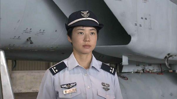 آغاز به کار اولین خلبان زن هواپیماهای جنگنده در ژاپن