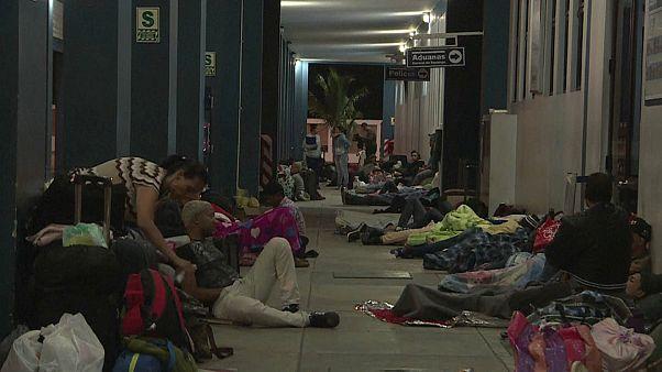 Венесуэльцы бегут из страны