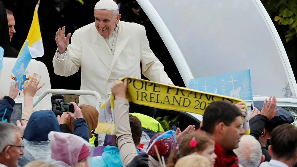 Pope begs for forgiveness over child abuse 'betrayal'