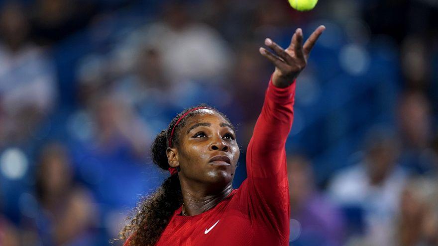 Tenis kortlarında tayt tartışması: Nike'tan Serena Williams'a destek