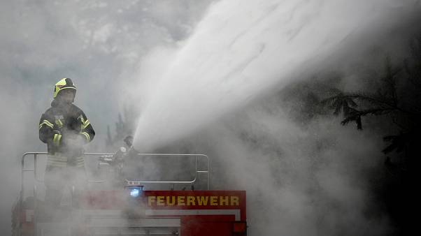 Berlin fires may have been caused by 'arson'
