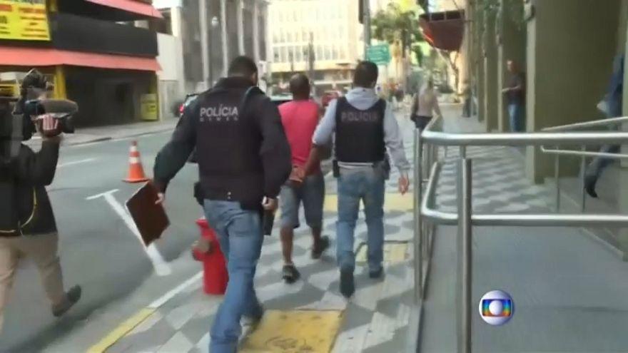 """Brasil: """"Operação Cronos"""" detém 2600 pessoas em todo o país"""