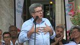 """Pour Mélenchon, les prochaines européennes seront un """"référendum anti-Macron"""""""