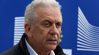 Ο Επίτροπος Μετανάστευσης Δημήτρης Αβραμόπουλος