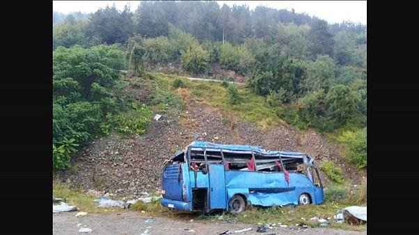 Trágico accidente de autobús en Bulgaria