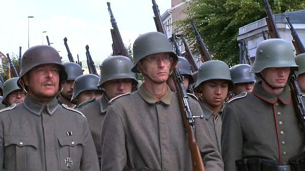 Реконструкция битвы при Вердене
