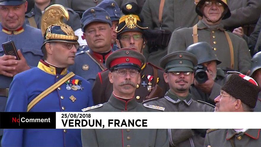 France : Verdun se souvient de la Première Guerre mondiale