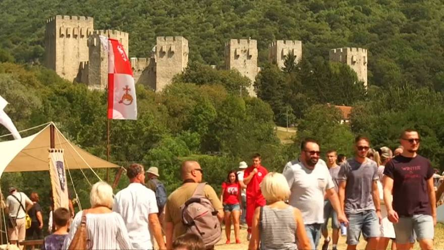 Középkori fesztivál Szerbiában
