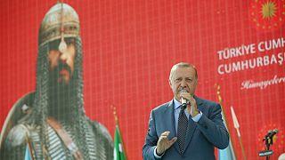 اردوغان: ترکیه صلح و امنیت را در سوریه و عراق برقرار میکند