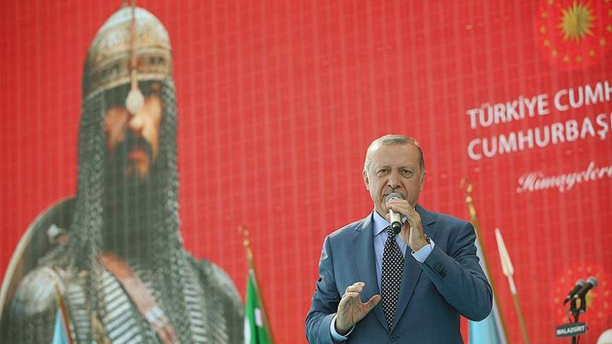 Erdoğan: Mesele Tayyip Erdoğan değil Türkiye ve İslam meselesidir