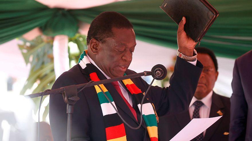 Zimbabve: Mnangawa yemin ederek göreve başladı