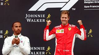 Sieg in Spa: Vettel verkürzt WM-Rückstand auf Hamilton