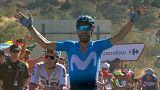 Alejandro Valverde se corona vencedor en Caminito del Rey